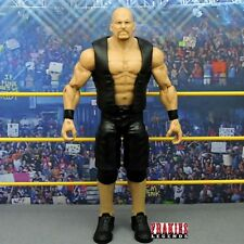 WWE Stone Cold Steve Austin Mattel Basic Custom Figure 100% Playable E137