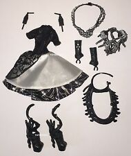 Ever After High Dragon Games Teenage Evil Queen Doll Outfit Clothes Dress Shoes