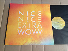 NICE NICE - EXTRA WOW - 2 LP + MP3 download code - WARPLP187 - UK 2010
