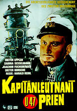 U-47 - KAPITANLEUTNANT PRIEN (1958) * with switchable English subtitles *