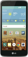 Boost Mobile - LG Tribute 5 Prepaid Cell Phone - Black