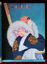 Vogue Paris Bound Volume ~ January 1st to June 1st, 1927 ~ Plank Lepape Benito