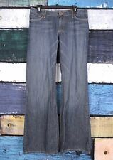 Chip & Pepper Dark Wash San Fran Flare Wide Leg Jeans Pants SIZE 32 X 32