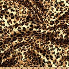 2 Panel Drapes 60W X 84L Cheetah Leopard Satin Photography Window Curtains Wall
