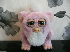 ****EMOTO-TRONIC FURBY FURBIE BABY PINK WITH A YELLOW TUMMY****