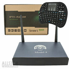 Loolbox Arabic IPTV MBC 1080p HD TV WiFi Internet Quad Core + Wireless Keyboard
