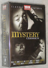 Mystery Classics - 100 Movies Detective, Thriller, Sherlock Holmes  DVD Box Set
