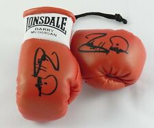 Autographed Mini Boxing Gloves Barry McGuigan