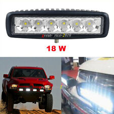 1X 18W CREE LED Work Light Bar Fog Driving Off-road Spot Light For Jeep SUV ATV