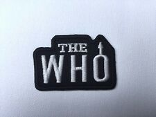 Iron On/ Sew On Embroidered Patch Badge The Who MOD Rock Band Music