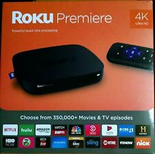 BRAND NEW! Roku Premiere Streaming Media Player 4K Brilliant HD (2016, 4620RW)