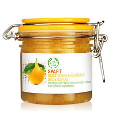 Body Shop ◈ SPA FIT SMOOTHING & REFINING BODY SCRUB ◈ Refines & Smoothes ◈200ml