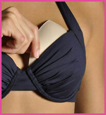 Bikini Enhancers - Triangular Push Up Breast Enhancers for Swimwear