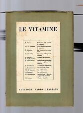 le vitamine - 1953 - edizioni radio italiana -    may decimu