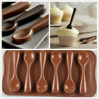 DIY Silicone Spoon Design Chocolate Candy Cake Bakeware Mold New