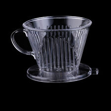 Plastic Coffee Filter Cup Pour Cone Drip Dripper Maker Brewer Holder Hot