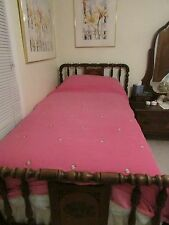 Pottery Barn Kids Lady Bug Embroidered Bedding Duvet Cover Twin