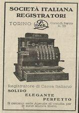 W3528 Registratore di Cassa Italiano - Pubblicità 1933 - Advertising