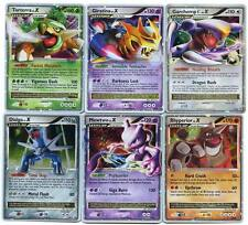 POKEMON Lot de 6 Cartes Niveau X ( lv.X ) Niv X Neuves!
