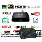 M8S S812 4K Smart TV Box 2G+8G Quad Core Fully Loaded + Keyboard Lot Android 4.4