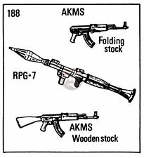 Verlinden 1/35 Soviet Small Arms (AKM, AKMS (Folding Stock), RPG-7 & Bipod) 188
