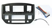 NEW 2006-2006 Dodge Ram Radio Double Din Dash Install Bezel Kit Black Slate Grey