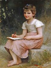 William Bouguereau Adolfo una vocazione 1896 Old Master Arte Pittura Stampa 3101oma