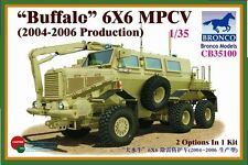 "1/35 BRONCO 35100 - ""Buffalo"" 6x6 MPCV (2004-2006 Production) IRAQ & AFGHANISTAN"