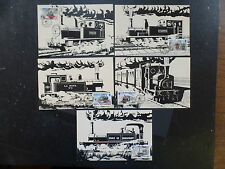Jersey 1985 Trains Maximum Cards