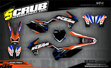 SCRUB KTM SX 85 2013-2017 '13 - '17 Grafik Sticker Dekor-Set