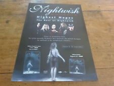 NIGHTWISH - Publicité de magazine / Advert HIGHEST HOPES !!!!!!