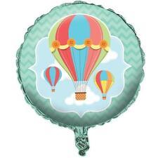 """Auf, Oben und Weg Baby Dusche Heißluftballon 18"""" Folien Ballon"""