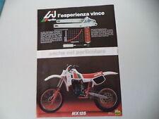 advertising Pubblicità 1982 MOTO APRILIA MX 125