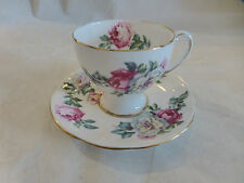 ROYAL STANDARD Irish Elegance TEA CUP & SAUCER England Roses Gold Trim