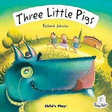 Three Little Pigs (Flip Up Fairy Tales)-ExLibrary