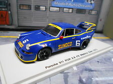 Porsche 911 carrera 2.8 rsr long tail Sunoco #6 WG CanAm 1973 New Spark 1:43