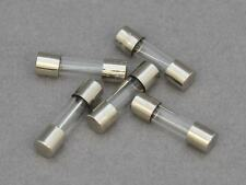 10 X T6.3A 6.3amp Slow Blow/Anti Surge Glass Fuse. 20 x 5mm, 250v