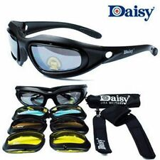 Daisy C5 Military War Game Goggles 4 Lenses Polarized Outdoor Sports Sunglasses