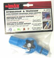New Mr. LongArm 0425 Hydrasoar & Telewash Flow Through Angle Adapter Extention