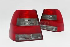 VW Bora 98-05 Smoked Red Tail Rear Lights Lamps Set Pair Left Right US Spec