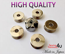 INDUSTRIAL SEWING MACHINE BOBBIN CASE + 5 BOBBINS