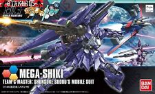 Mega-Shiki Gundam Build Fighters Try Shunsuke Sudou Scale 1/144 Model Kit Bandai