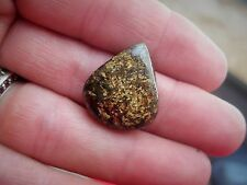 URALS OF RUSSIA RARE IRON ENRICHED GLISTENING GOLDEN COPPER ENSTATITE 25.04CT.