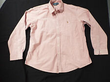 Ralph Lauren Shirt in red with logo Size 2XL two extra large Custom Fit