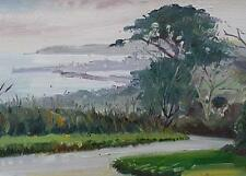 Bernard Evans Original Oil Painting Penzance From Gulval Cornwall (Cornish Art)