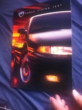 1997 Chrysler Eagle Vision Full Line Original Color Brochure Catalog Prospekt