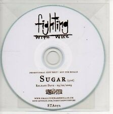 (AP520) Fighting With Wire, Sugar - DJ CD