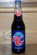 NM 2012 USA ROYAL CROWN RC COLA FULL 12 oz GLASS LONGNECK BOTTLE - TWIST-OFF TOP