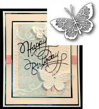THEO BUTTERFLY Thin Metal Die Cut - Poppy Stamps dies 1060 Animals,insects