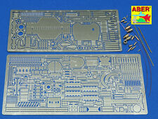 1/16 ABER 16033 BASIC SET for TIGER II HENSCHEL TURM for TAMIYA & TRUMPETER Kits